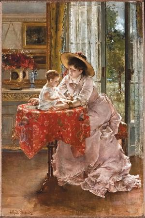 The Contented Mother, 1872