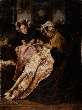 The Seamstress, 1880