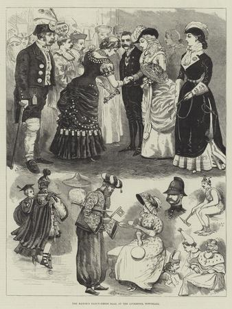 The Mayor's Fancy-Dress Ball at the Liverpool Townhall