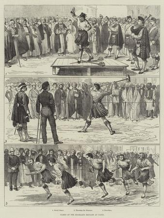 Games of the Highland Brigade at Cairo