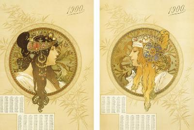 Byzantine Heads; Tetes Byzantines, 1900