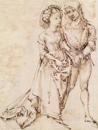 A Young Couple, 1484-94