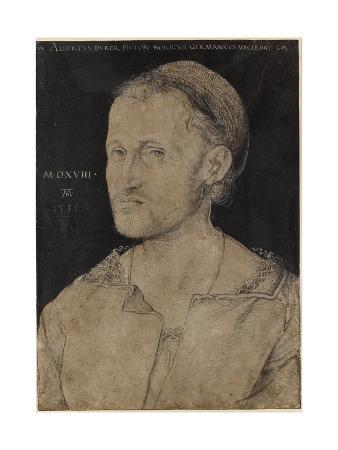 Portrait of Hans Burgkmair, 1518