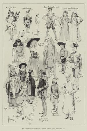The Children's Fancy Dress Ball at the Mansion House, 7 January 1896