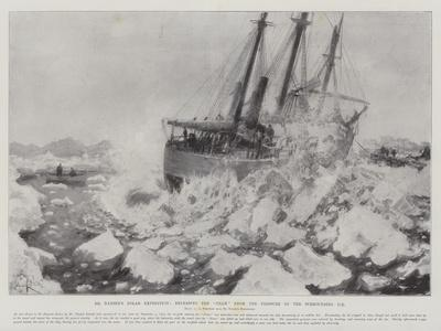 Dr Nansen's Polar Expedition, Releasing the Fram from the Pressure of the Surrounding Ice