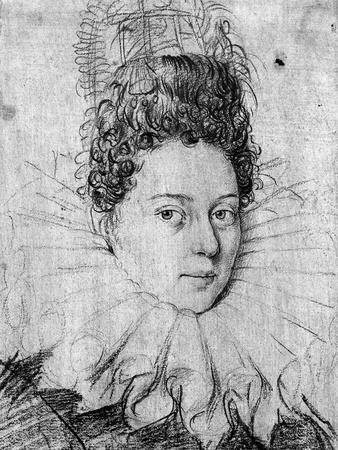 Portrait of a Young Lady Wearing a Ruff and with an Elaborate Coiffe