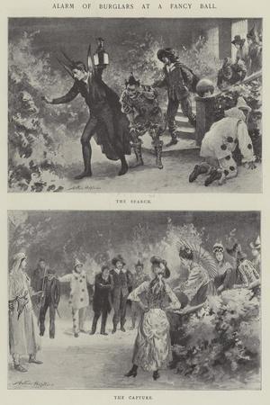 Alarm of Burglars at a Fancy Ball