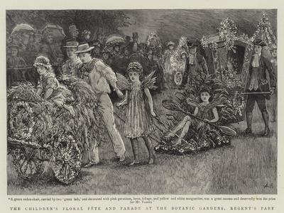 The Children's Floral Fete and Parade at the Botanic Gardens, Regent's Park