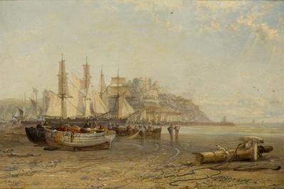Low Tide, Mount Orgueil, Jersey, 1881