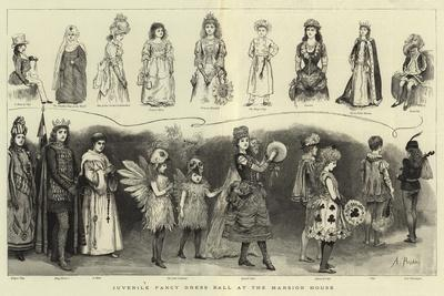 Juvenile Fancy Dress Ball at the Mansion House