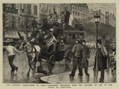 The Military Conscription in Paris