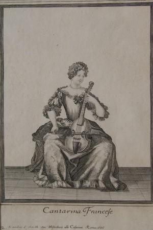 Cantarina Francese, Rome, 1686