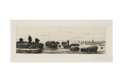 The Seaweed Gatherers at Veules, C. 1885