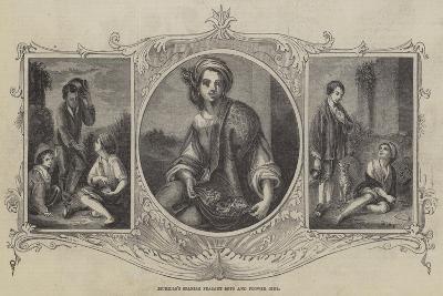 Murillo's Spanish Peasant Boys and Flower Girl