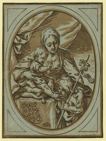 The Virgin, Child, and St. John the Baptist