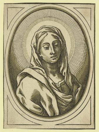 Head of the Virgin, Between 1630 and 1655