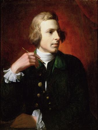 Portrait of Charles Wilson Peale (1741-1827), 1767-9