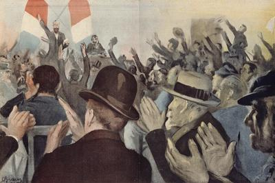 You, Men of Duty and Sincerity, from 'L'Assiette Au Beurre', 20 April 1902