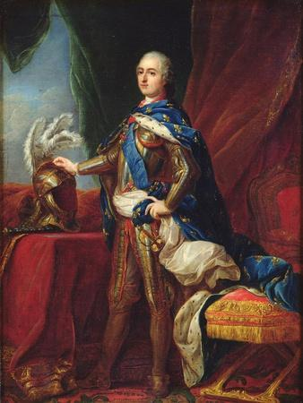 Portrait of Louis XV in Armour
