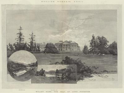 English Homes, Willey Park, the Seat of Lord Forester