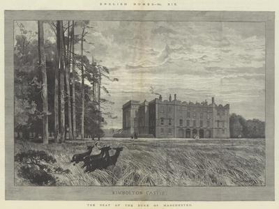 Kimbolton Castle, the Seat of the Duke of Manchester