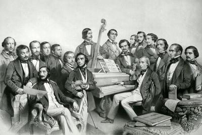 The Musical Union, Publ. by Hanhart, 1851