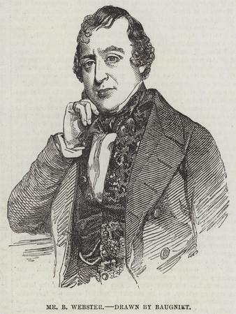 Mr B Webster