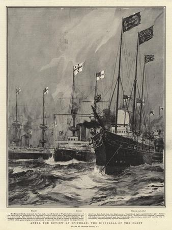 After the Review at Spithead, the Dispersal of the Fleet