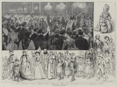 A May Juvenile Fancy Dress Ball Given by the Lady Mayoress at the Mansion House