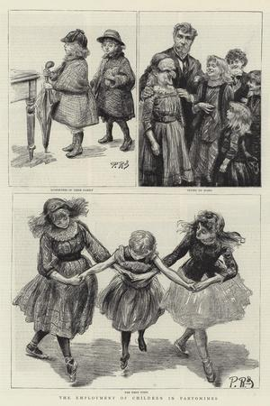 The Employment of Children in Pantomimes