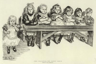 Free Education, the Babies' Bench