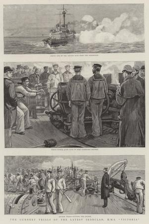The Gunnery Trials of the Latest Ironclad, HMS Victoria