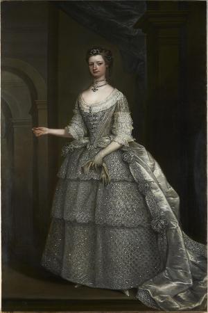 Portrait of Lady Frances Montagu