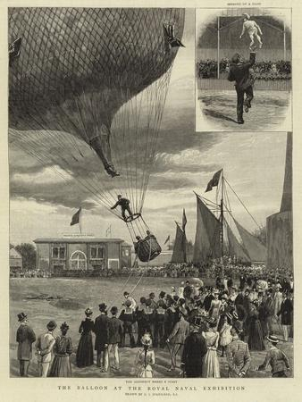 The Balloon at the Royal Naval Exhibition