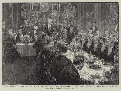 Anniversary Festival of the Royal Asylum of St Anne's Society