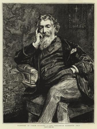 Painters in their Studios, I, Sir Frederick Leighton, Pra