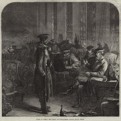 Siege of Paris, the Salle De L'Orangerie, Palace of St Cloud