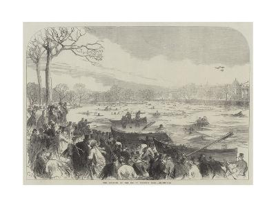 The Disaster on the Ice in Regent's Park