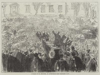 Funeral of M Berryer, at Augerville