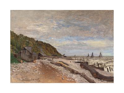 Boatyard Near Honfleur; Le Chantier De Petits Navires, Pres De Honfleur, 1864