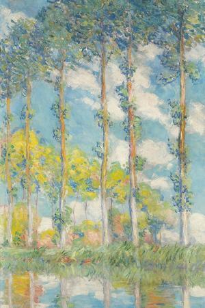 The Poplars; Les Peupliers, 1891