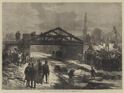 The Terrible Railway Accident, Scene of the Accident at Shipton-On-Cherwell