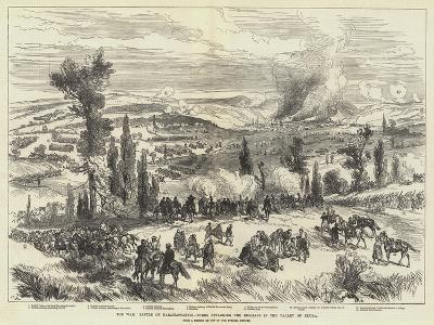 The War, Battle of Karahassankoi, Turks Attacking the Russian in the Valley of Kizila