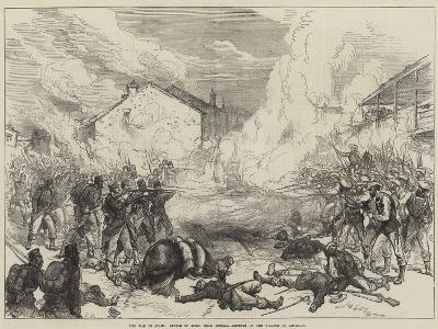 The War in Spain, Battle of Muro, Near Estella, Defence of the Village of Abarzuza