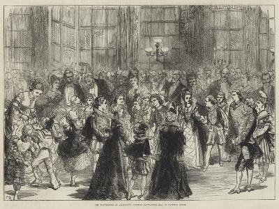 The Marchioness of Salisbury's Juvenile Fancy-Dress Ball at Hatfield House