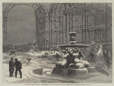 Ruins of the Tropical Department of the Crystal Palace after the Snowstorm