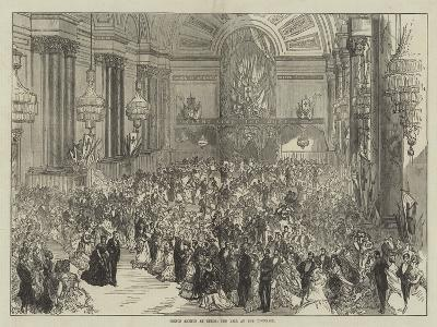 Prince Arthur at Leeds, the Ball at the Townhall