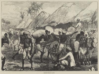 Loading Bullock Carts