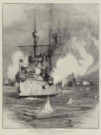 The War in Eastern Asia, Naval Attack on the Forts at Wei-Hai-Wei