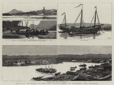 The War Between France and China, Views at Foochow and Formosa